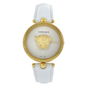 Versace New Versace Palazzo Empire VECQ00218 Steel Gold Electroplated Quartz