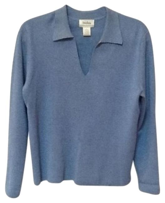 Preload https://item4.tradesy.com/images/neiman-marcus-medium-blue-charming-sweaterpullover-size-12-l-26948-0-0.jpg?width=400&height=650