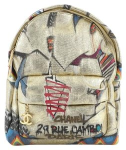 Chanel Canvas Backpack