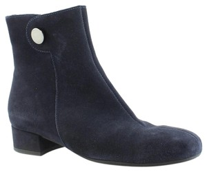 La Canadienne Night Blue Suede Boots