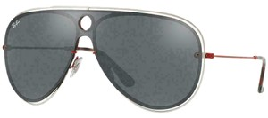 Ray-Ban Silver/Grey Mirrored Lens RB3605N 90976G Unisex Pilot