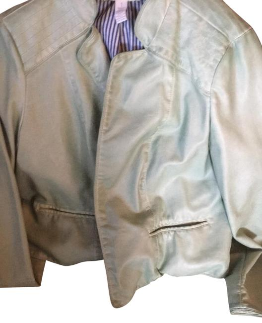 Item - Pale Green Don't Know Jacket Size 10 (M)