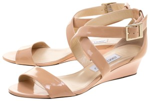 Jimmy Choo nude and blush Sandals