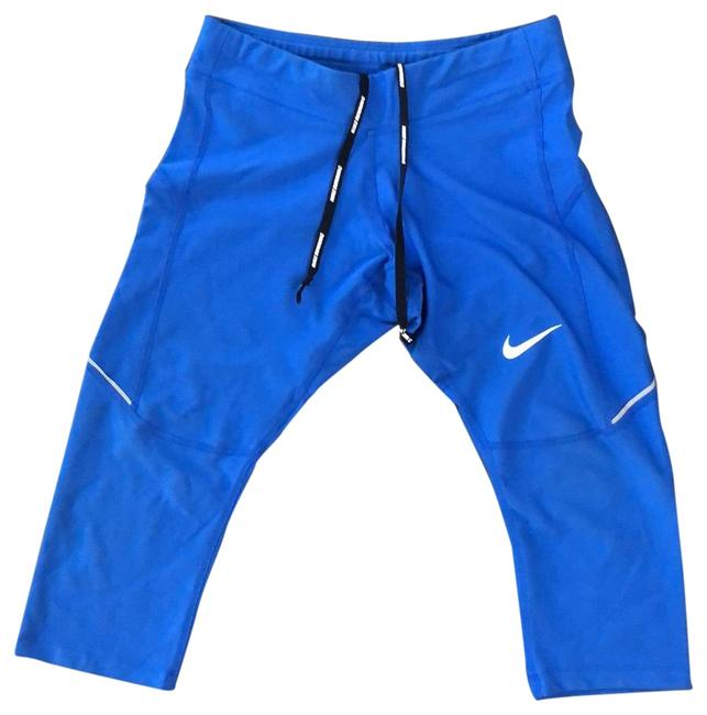 Item - Blue Cropped Workout Pants Activewear Bottoms Size 0 (XS)