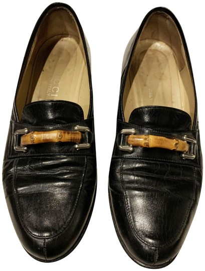 Preload https://img-static.tradesy.com/item/26951417/gucci-black-leather-signature-bamboo-flats-size-us-6-regular-m-b-0-1-540-540.jpg