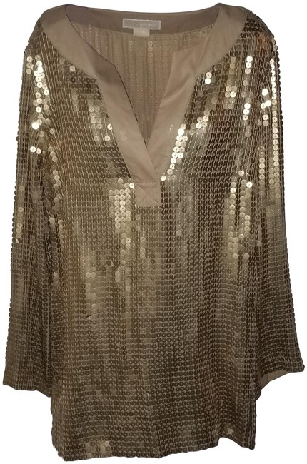 Item - Gold Sequin Tunic Size 14 (L)