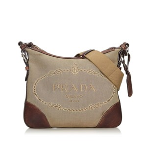 Prada 9eprcx006 Vintage Leather Cross Body Bag