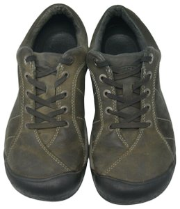 Keen Hiking Leather Sports Green Athletic