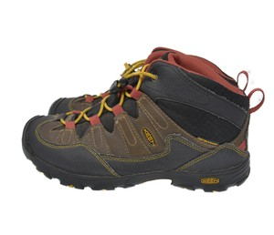 Keen Bungee Strap Leather Brown Athletic