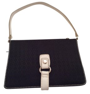Nine West Small Small Small Bi-fold Bi-fold Small Black and white Clutch