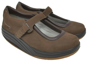 MBT Tone Walking Leather Brown Athletic