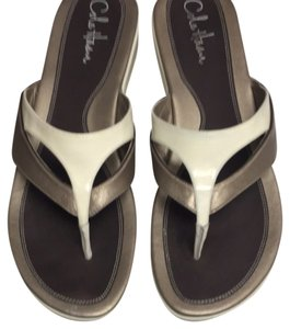 Cole Haan Taupe/cream Sandals