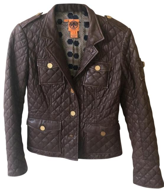 Item - Brown Quilted Jacket Size 2 (XS)