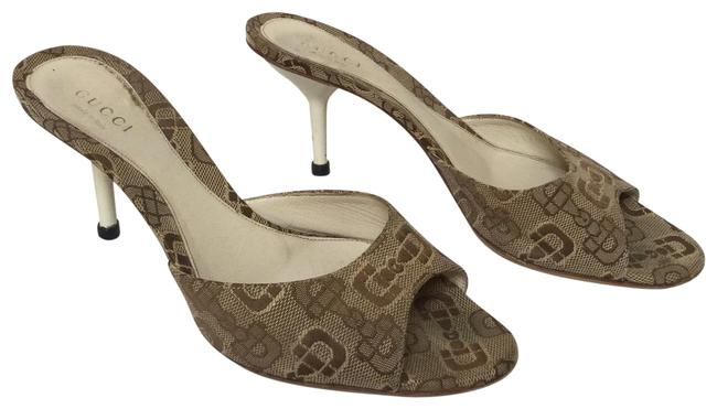 Gucci Brown Horsebit Gg Pumps Size EU 35 (Approx. US 5) Regular (M, B) Gucci Brown Horsebit Gg Pumps Size EU 35 (Approx. US 5) Regular (M, B) Image 1
