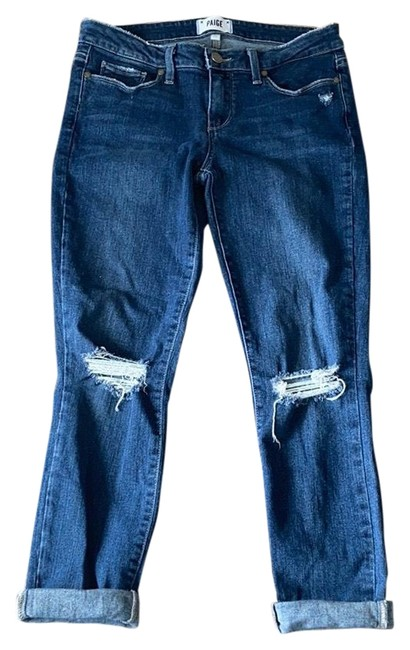 Paige Distressed Skinny Jeans Size 6 (S, 28) Paige Distressed Skinny Jeans Size 6 (S, 28) Image 1