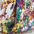Ali Ra Multicolor Tunic Top Yellow Red Floral Sleeve Scoop Neck Drop Waist Mid-length Short Casual Dress Size 2 (XS) Ali Ra Multicolor Tunic Top Yellow Red Floral Sleeve Scoop Neck Drop Waist Mid-length Short Casual Dress Size 2 (XS) Image 4