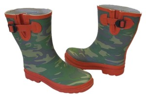 Other Size 5m Rain Good Condition Greens, Orange Boots