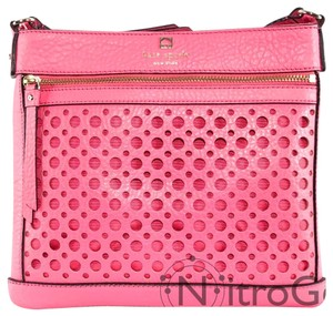 Kate Spade Perforated Leather Bubble Cross Body Bag