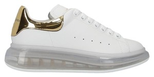 Alexander McQueen Mcq Mcq Sneakers Mcq Mcq Oversized White & Gold Athletic