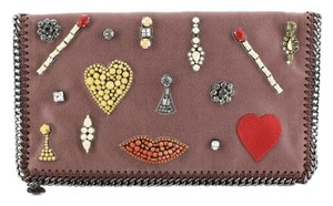 Stella McCartney Fabric Pink Clutch