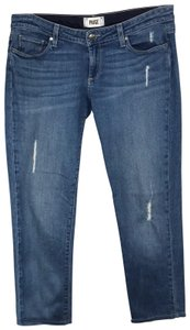 Paige Capri/Cropped Denim-Light Wash