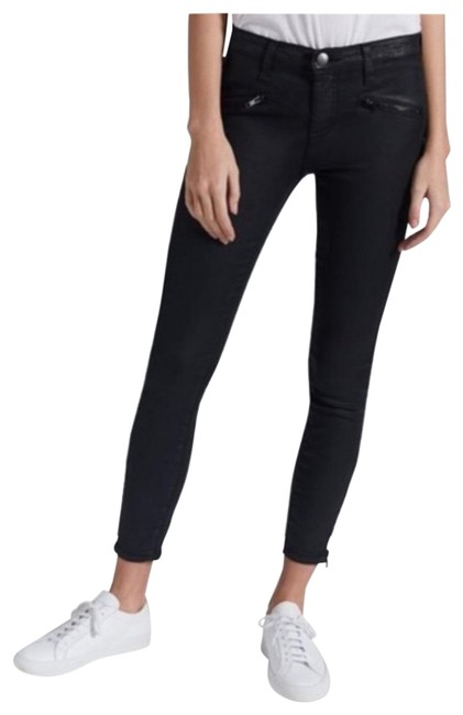 Item - Black Coated Soho Stiletto Skinny Jeans Size 4 (S, 27)