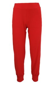 Norma Kamali Athletic Pants Red