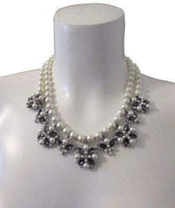 Charter Club Charter Club Silver-Tone Imitation Pearl Necklace