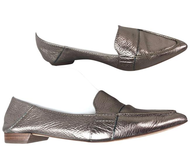Item - Gray Pointed Toe Flats Size US 6.5 Regular (M, B)