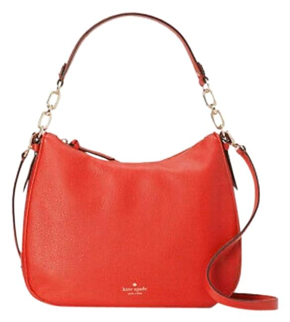 Item - Mulberry St. Vivian Hot Chili Red Leather Hobo Bag
