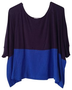 Cotton On T Shirt Blue Colorblock
