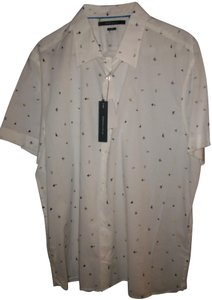 Perry Ellis New Men's Button Down Shirt
