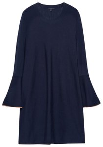 COS Wool Flared Bell Sleeves Knit Dress