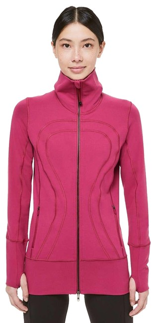 Item - Red In Stride Violet Activewear Outerwear Size 4 (S)