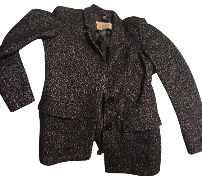 Item - Black/Grey Wool Coat Size 10 (M)