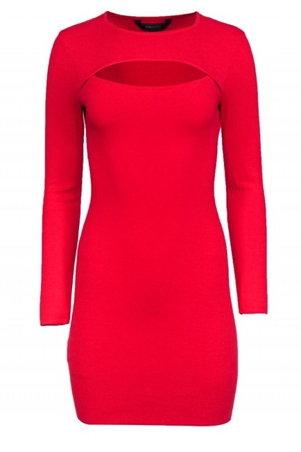 Item - Red Cocktail Dress Size 4 (S)
