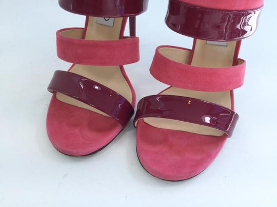 Jimmy Choo Pink/Red Sandals