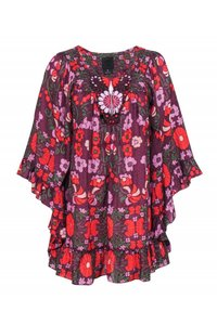 Anna Sui Shirts Floral Print Tunic