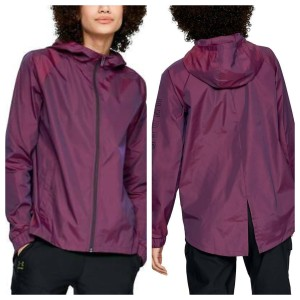 Under Armour Running Water-repellant Water-resistant Hooded Jacket