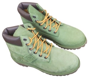 Timberland Green Boots