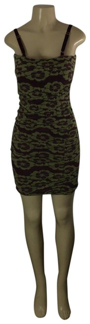 Item - Green Nice Short Cocktail Dress Size 4 (S)