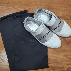 Givenchy White and Silver Athletic