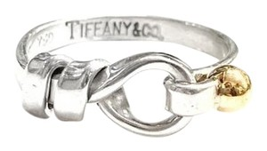 Tiffany & Co. GORGEOUS!! LIKE NEW!!! Tiffany & Co. 18 Karat Yellow Gold and Sterling Silver Knot Ring