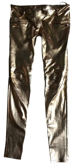 Preload https://item2.tradesy.com/images/gold-leather-skinny-pants-size-8-m-29-30-2696431-0-0.jpg?width=400&height=650