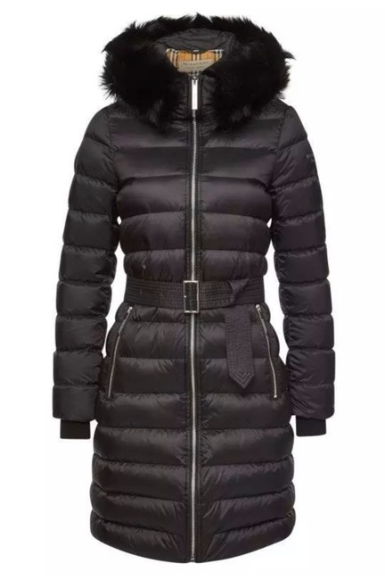 Item - Black XS New Current Limehouse Detach Shearling Down-filled Puffer Coat Size 2 (XS)