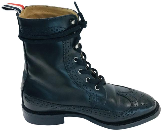 Item - Black Leather Wingtip Boots/Booties Size EU 36 (Approx. US 6) Regular (M, B)