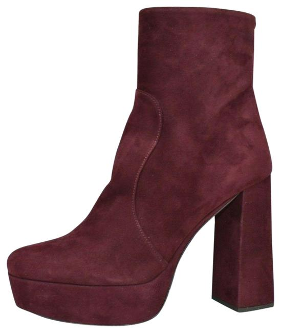Item - Purple 1tp221 Suede Short Platform Ankle Classic Italy Boots/Booties Size EU 39 (Approx. US 9) Regular (M, B)