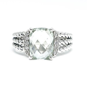 David Yurman DAVID YURMAN * White Topaz Petite Wheaton Ring