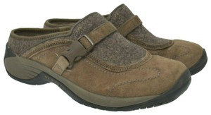 Merrell Suede Comfort Leather Brown Mules