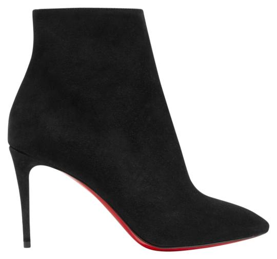 Preload https://img-static.tradesy.com/item/26966052/christian-louboutin-black-eloise-85-suede-leather-heels-ankle-bootsbooties-size-eu-38-approx-us-8-re-0-1-540-540.jpg